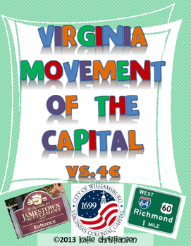 Movement of the Capital in Virginia