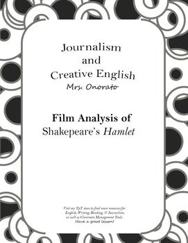 Movie Analysis: Shakespeare's Hamlet
