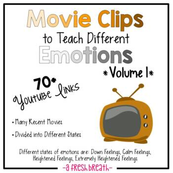 Movie Clips to Teach Different Emotions / States – 70+ Cli