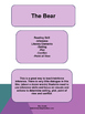 Movie Guide: The Bear-Inference, Plot, Setting, Conflict,
