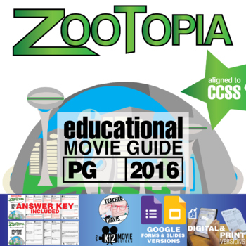 Zootopia Movie Guide (PG – 2016)