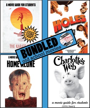 Movie Guides (4) - Popular Old School Movies