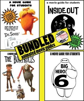 Movie Guides (4) - Popular Animated Bundle