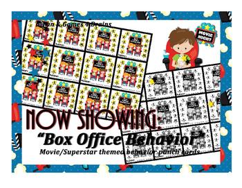 Movie - Hollywood themed Box Office behavior punch card