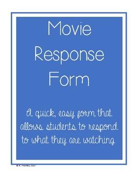 Movie Response Form