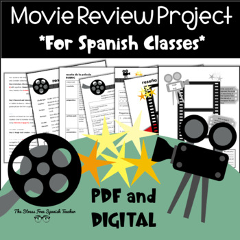 Movie Review for Spanish classes: Project Based Learning,