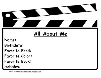 All About Me-Movie Style