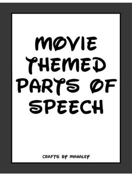 Movie Themed Parts of Speech