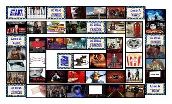 Movie Things & Genres Board Game