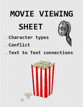 Movie Viewing Sheet