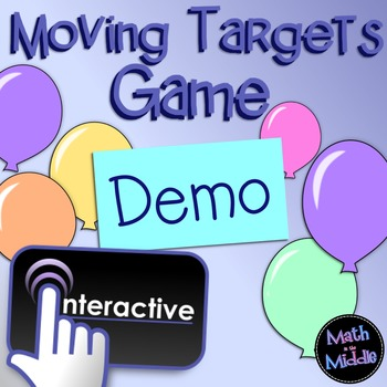 Moving Targets Interactive Game Demo