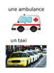 French: Moyens de transport: Cartes éclairs, Core & PR Fre