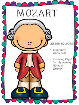 Mozart Listening Glyph and Biography