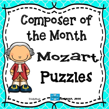 Mozart Puzzles (Composer of the Month)