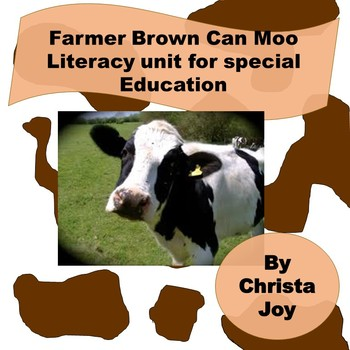Mr Brown Can Moo Can You for Special Education