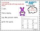 Mr. Bunny's Long Vowel Write the Room Kindergarten First