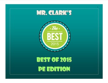 Mr. Clark's Best of PE 2015
