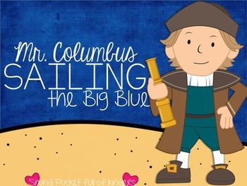 Mr. Columbus Sailing the Big Blue {A Mini Unit on Christop
