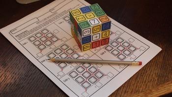 Mr. Merlin's Math Puzzle Cube