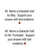 Mr. Peabody's Apples Group Literacy Task Cards