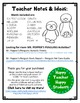 Mr. Popper's Penguins Word Search Activity