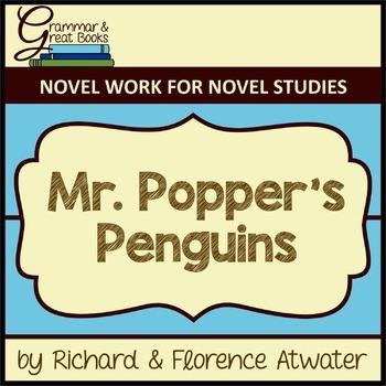Mr. Popper's Penguins: CCSS-Aligned Novel Work