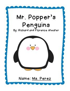 Mr. Popper's Penguins Unit - Exemplar Text