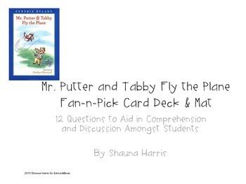 Mr. Putter & Tabby Fly the Plane Fan & Pick cards (Trophie