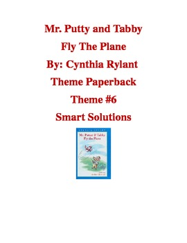 Mr. Putter and Tabby Fly the Plane-Houghton Mifflin Third