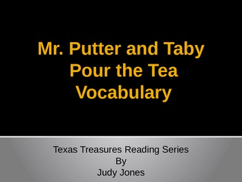 Mr. Putter and Tabby Pour Tea - Texas Treasure