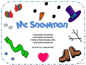 Mr. Snowman For Winter