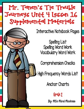 Mr. Tanen's Tie Trouble Journeys Unit 4 Lesson 16