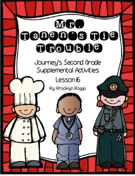 Mr. Tanen's Tie Trouble Journey's Activities - Second Grad