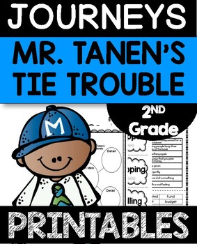 Mr. Tanen's Tie Trouble Worksheets Journeys 2nd Grade