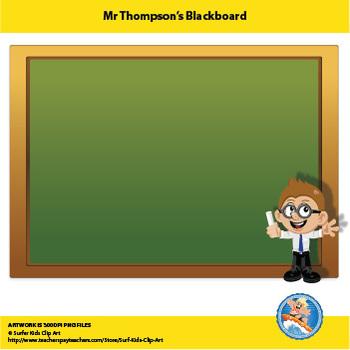 Freebie : Mr Thompson's Blackboard