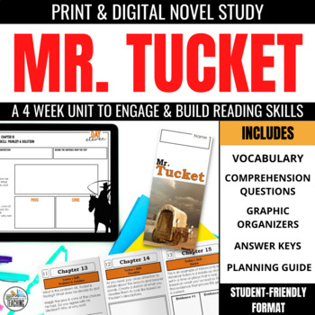 Mr. Tucket Foldable Novel Study Unit
