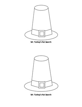 Mr Turkey's Hat Search - Positional Words