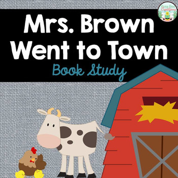 Mrs. Brown Went to Town, by Wong Herbert Yee