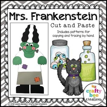Mrs. Frankenstein Cut and Paste