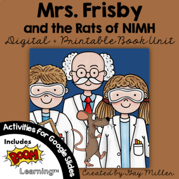 Mrs. Frisby and the Rats of NIMH Character and Plot Analysis Tri ...