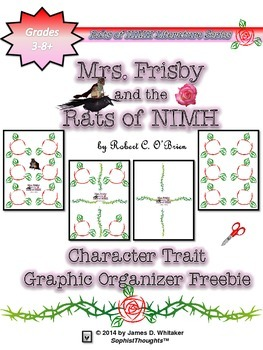 Mrs. Frisby and the Rats of NIMH Character Traits Analysis