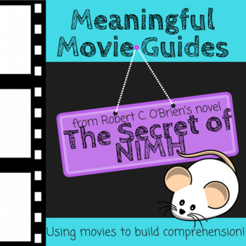 Movie Follow-Along Notes:  Mrs. Frisby and the Rats of NIM
