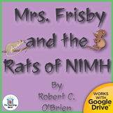 Mrs. Frisby and the Rats of NIMH Novel Study CD