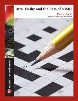 Mrs. Frisby and the Rats of NIMH: Puzzle Pack - Crosswords