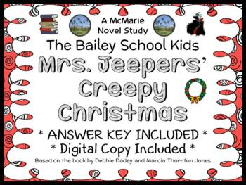 Mrs. Jeepers' Creepy Christmas (Bailey School Kids) Novel