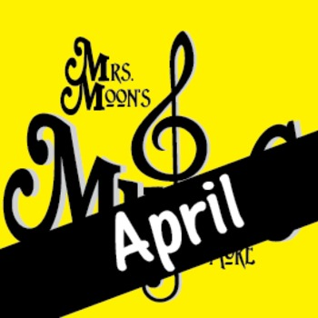 Mrs. Moon's Music: Add-a-long Songs: April Song:STANDARD PACKAGE
