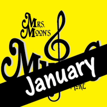 Mrs. Moon's Music: Add-a-long Songs: January Song STANDARD