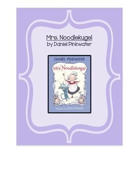 Mrs. Noodlekugel Book Study