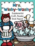 Mrs. Wishy Washy {Craft and Emergent Reader}