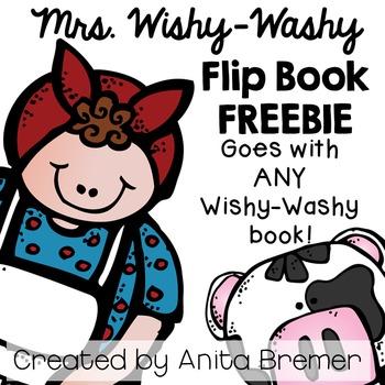Mrs. Wishy-Washy Flip Book FREEBIE {Works with ANY Wishy-W